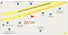 Doctors Medical Centre Location Map